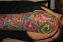 New School Sleeve Tattooing By Brandon Notch... (Sacred Saint)