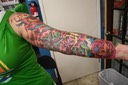 American Traditional Sleeve Tattooing by Brandon Notch...